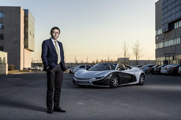 长城华冠汽车科技公司董事长陆群去年12月于北京。