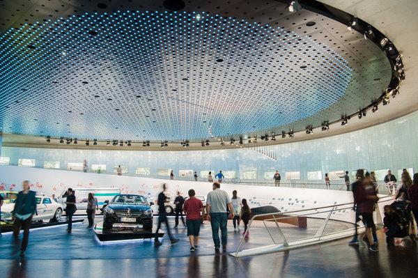 德國斯圖加特的梅賽德斯-賓士博物館。