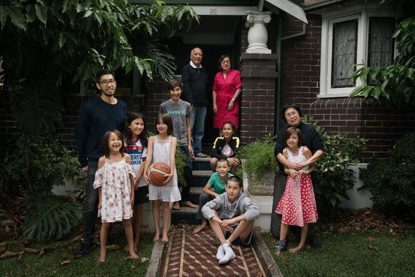 林弗一家是澳洲雪梨的華人移民後代。今年是華人移民至澳洲的200週年。