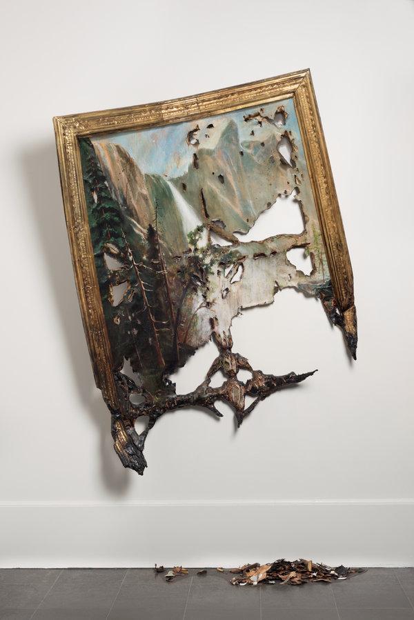 瓦莱丽·赫加蒂,《坠落的比尔施塔特》(2007年)。