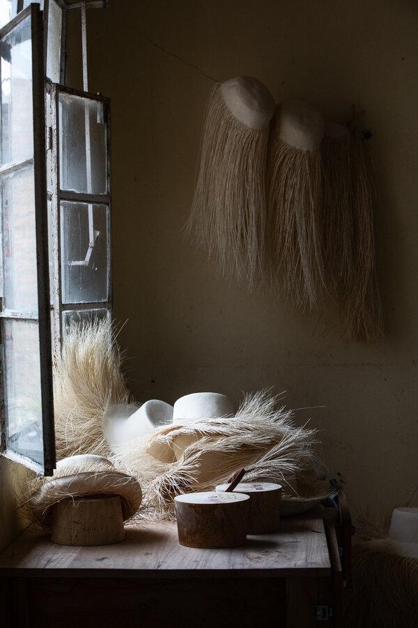 加布里埃爾·盧卡斯的工作室,他是蒙特克里斯蒂最偉大的精整工匠之一。