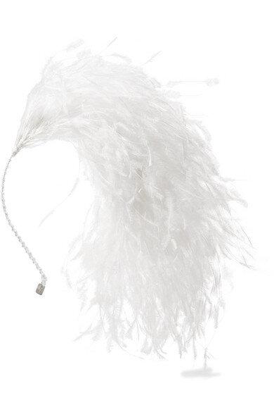 Gigi Burris Millinery的「Adrienne」髮帶,380美元。