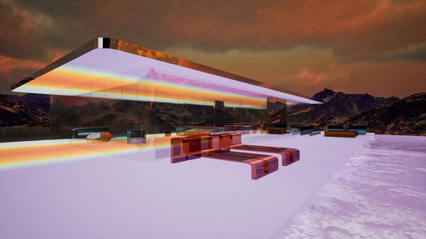 火星之家的设计初衷是为了让人们参观和享受超元域这个共享虚拟空间。